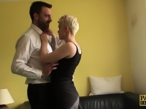 British slut assfucked rough until cuminmouth