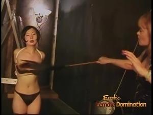 Three lusty sluts enjoy having some naughty fun with an Asia