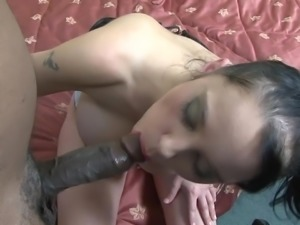 Sex with ejaculation on pussy