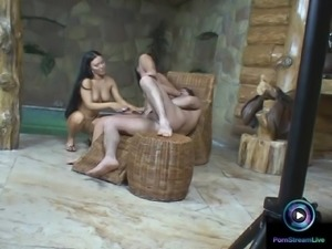 Leslie and Valentina Velazquez awesome threesome sneak peek