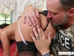 Amara Romani likes having her ass licked and she blows like a pro
