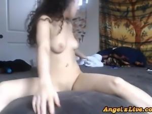 Amateur Lesbian Rough Fingered On Cam