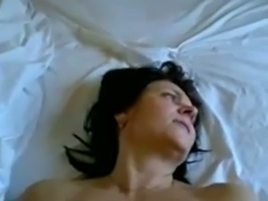Mature big breasted brunette wifey of my neighbor was poked missionary