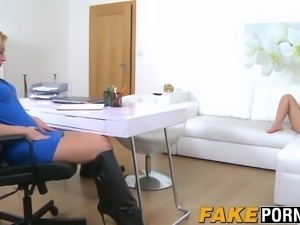Blonde lesbians looking for orgasms