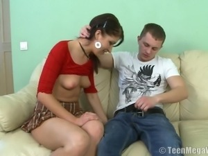 Magnificent Elena and the hard anal poking that she won't forget