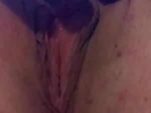 Closeup pussy play