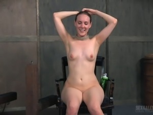 Sierra Cirque caught in a threesome during a BDSM session