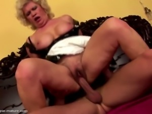 Moms get rough sex and jizz inside hungry holes