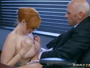 Lauren is helping Johnny, just as her job duties describe. She goes above and...
