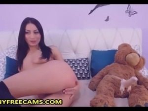 Watch Me Fucking My Teddy Bear