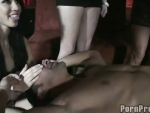 Group sex shoot of drunkard dames getting throbbed hardcore