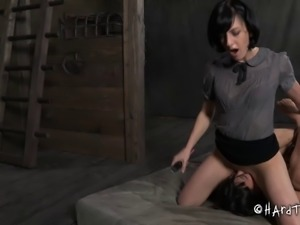 Chubby Siren Wolf getting her pussy drilled with toys in the basement