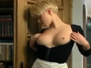 hot couple fucking and being watched by maid