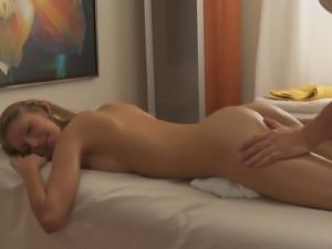 Anjelica Austin pussy fingered then pleasured hardcore