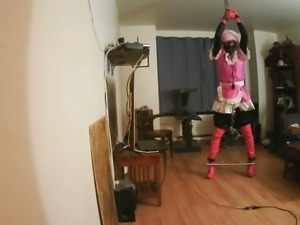 Sissy Slut bound and gagged