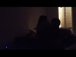 spying on roommate fucking my girl and getting her pregnant.mp4