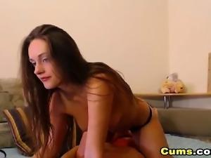 Horny Amateur Couple Having a Nice Show on Cam