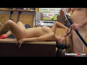 Asian Chick Exchanges Family Sword For White Man&rsquo_s Flesh Sword
