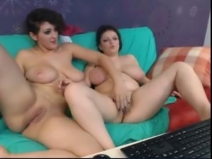 two big tits on cam
