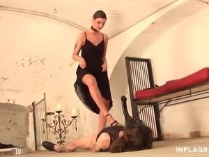 Kinky German Dominatrix