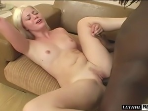 Pale princess wants to feel a handsome man's on her great body