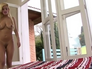 Stunning blonde Carol Castro adores bouncing on a big dick