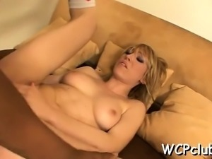 Passionate white honey feels cock in all holes