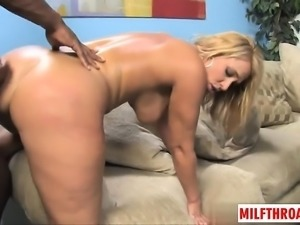 Hot milf dp with facial