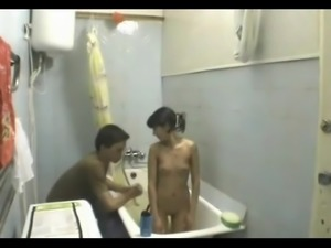 Amateur Couple Awesome Bathroom Fuck