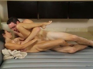 Gorgeous masseuse Trinity St Claire provides her client with an unforgettable...