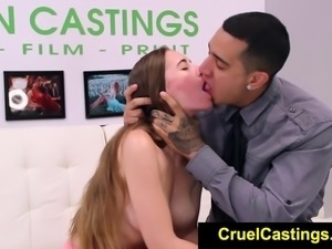 FetishNetwork Gina Valentina bdsm casting video