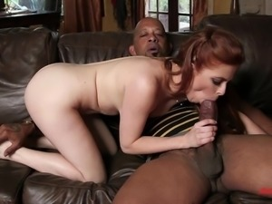 Penny Pax Takes Black Monster Cock