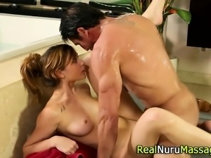 Nuru masseuse gets railed
