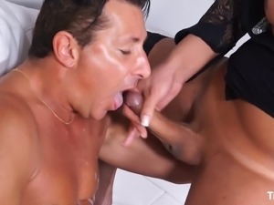 Marcella Italy seduces a hot guy with her amazing body