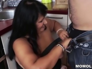 BBW Granny Ass Fuck