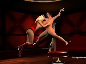 3D Tremendous women gets unpleasant having a large hot clit