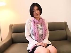 Striking Japanese babe has a horny stranger devouring her j