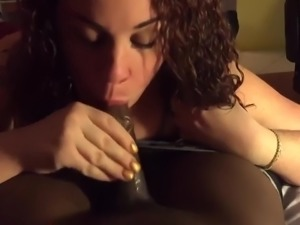 Girlfriend Blowing Her Boyfriend 24