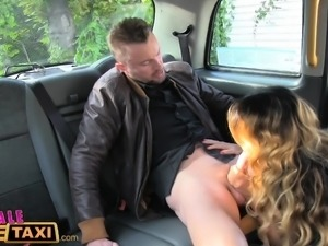 Female Fake Taxi Three exciting sessions