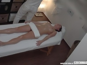 czech beauty fucked during a massage
