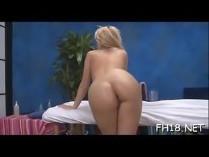 Massage porn movie scene