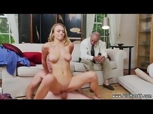 Teen fucks old guy in shower Molly Earns Her Keep