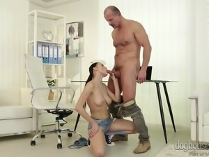 Nicole's boss is not pleased at all with her work and wants to kick her out,...