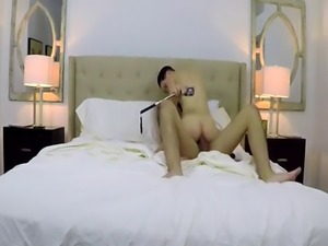 Straight twink tricked into sex video and free old gay guy tied bed fi