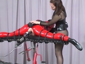 BDSM fucking machine