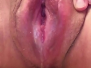 dripping wet creamy pussy big swollen pussy lips