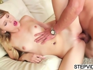 Scarlett Fever spreads for her stepdad