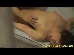 Asian lesbian licks pussy