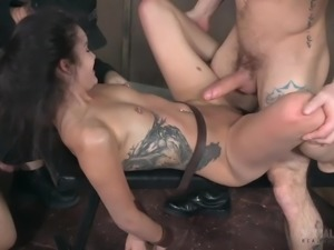 fucked from both ends by the dominant masters