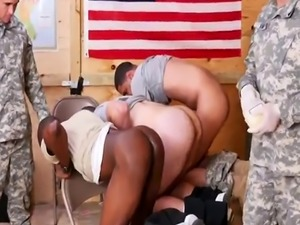 Uncut military latin men gay Yes Drill Sergeant!